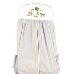 nappy stacker on safari blue