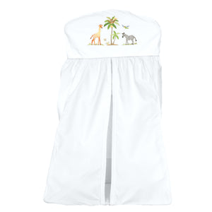 nappy stacker on safari white