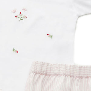 toddler wear rosebud set