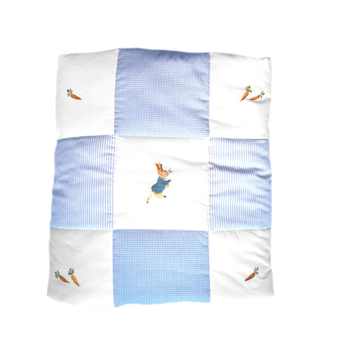 baby quilt peter rabbit
