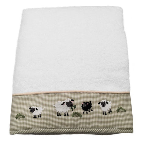 terry bath towel - little barn