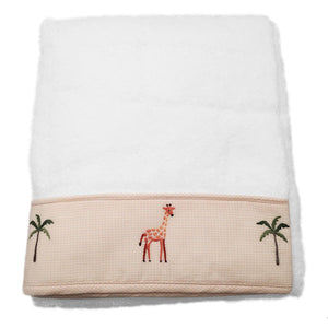 terry bath towel - on safari
