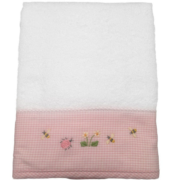 terry guest towel - nursery time