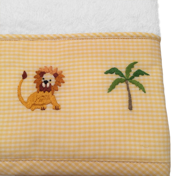 terry guest towel - on safari