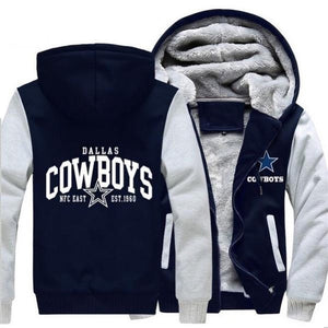 Dallas Cowboys Thick Fleece Jacket