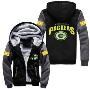 Green Bay Packers Thick Fleece Jacket