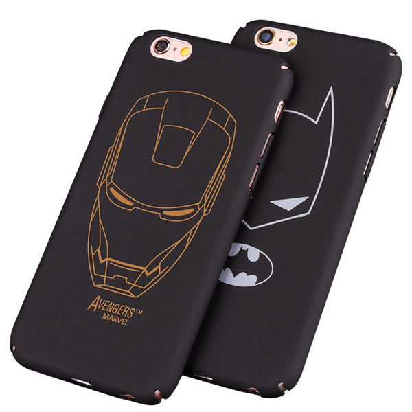 Superheroes Ultra-Thin Phone Case for iPhone 5 | 5S | 5SE | 6 | 6S | 6 plus | 7 - Fitness Elephants