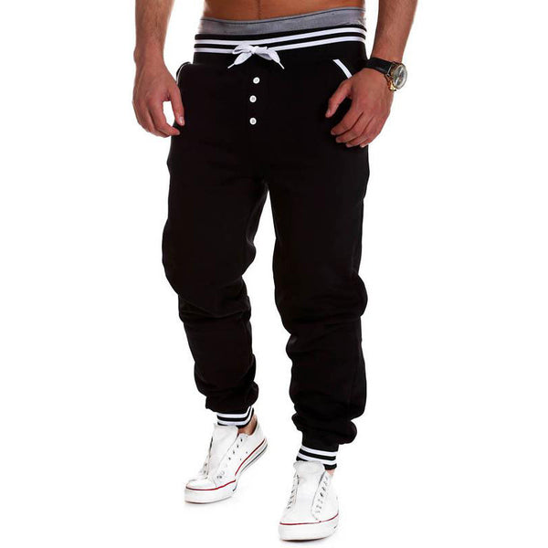 Harem Button Joggers - Fitness Elephants