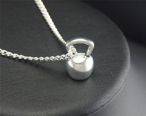 Kettlebell Crossfit Necklace