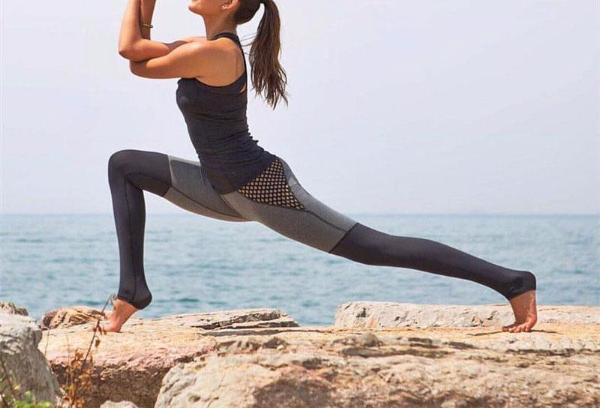 Mesh Slim Elastic Leggings - Fitness Elephants