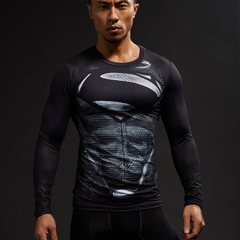 New Superman Compression Shirt