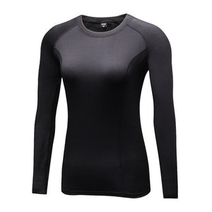 Women's Quick Dry Compression Long Sleeve