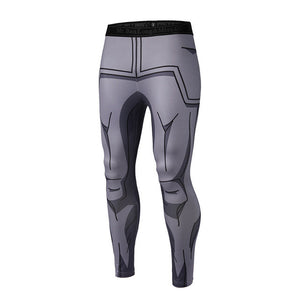 Dragon Ball Z Vegeta Whis Armor Compression Pants - Fitness Elephants