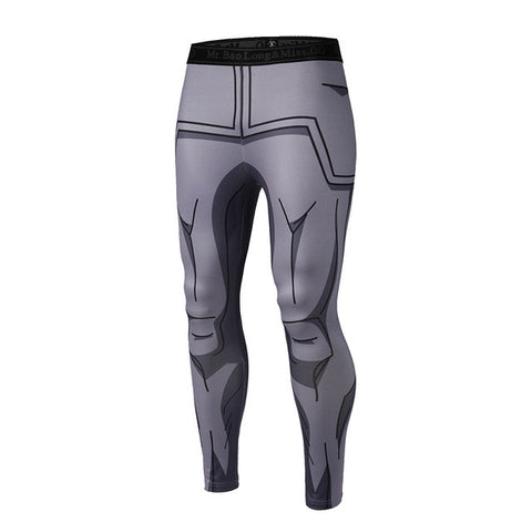 Dragon Ball Z Vegeta Whis Armor Compression Pants