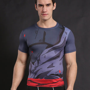 Dragon Ball Z Goku Black Armor Compression Shirt