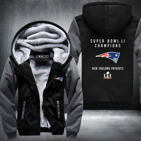 Patriots Thick Fleece Jacket