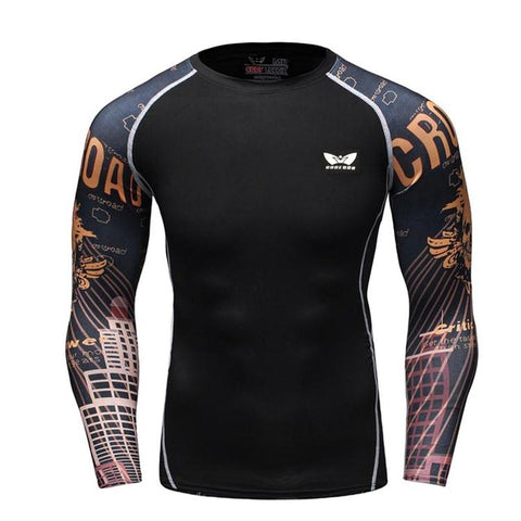 Base Art Compression Shirt - Fitness Elephants