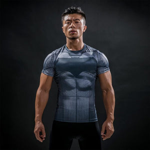 Batman vs Superman Compression Shirt - Fitness Elephants