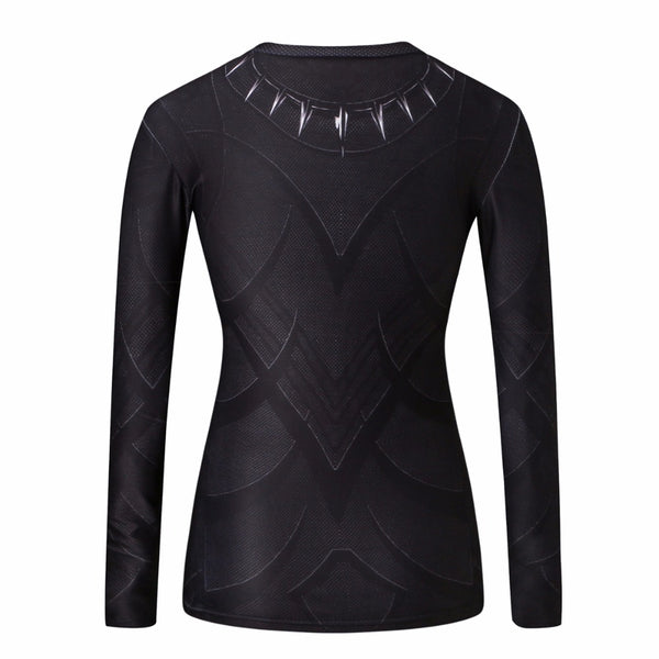 Black Panther Compression Longsleeve