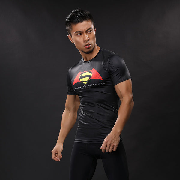 Superman Wings Compression Shirt