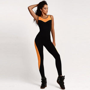 Halter Strap One-Piece Jumpsuit - Fitness Elephants