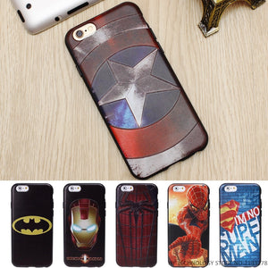 Marvel 3D Silicone Phone Cases for iPhone