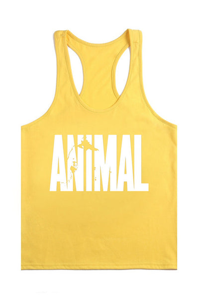 Animal  Sport Tanktop - Fitness Elephants