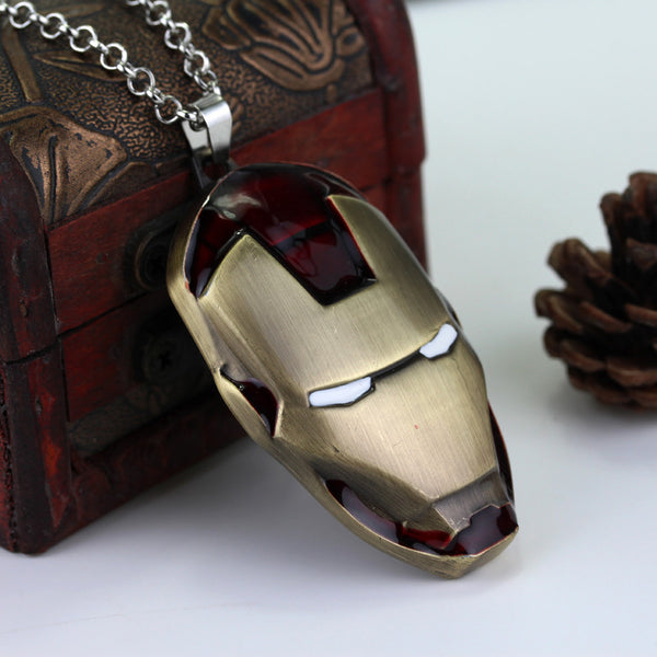 Iron Man Necklace - Fitness Elephants