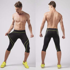 3/4 Compression Fitness Sweatpants