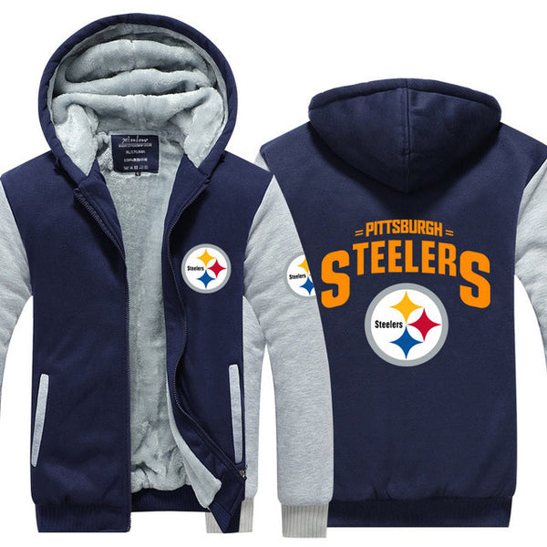Pittsburgh Steelers Thick Fleece Jacket