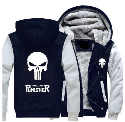 Punisher Thick Jacket - Fitness Elephants