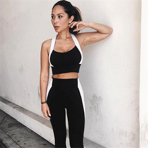 Color Block Tracksuit [2x piece set] - Fitness Elephants