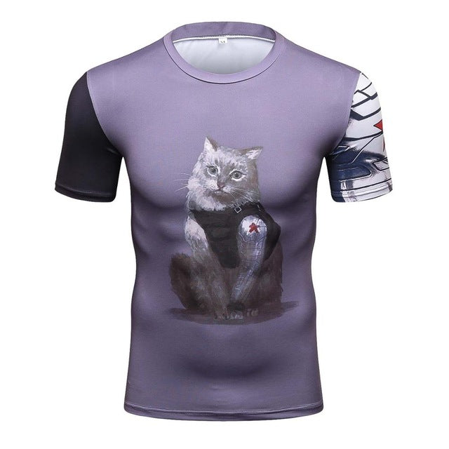 WiSCat Compression Shirt