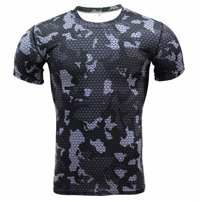 Camouflage Compression Shirts - Fitness Elephants