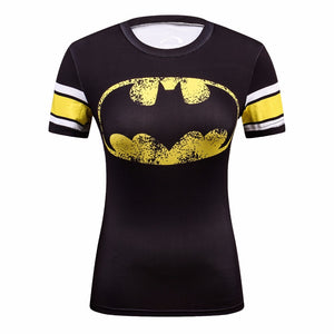 Batman Black Compression Shirt - Fitness Elephants