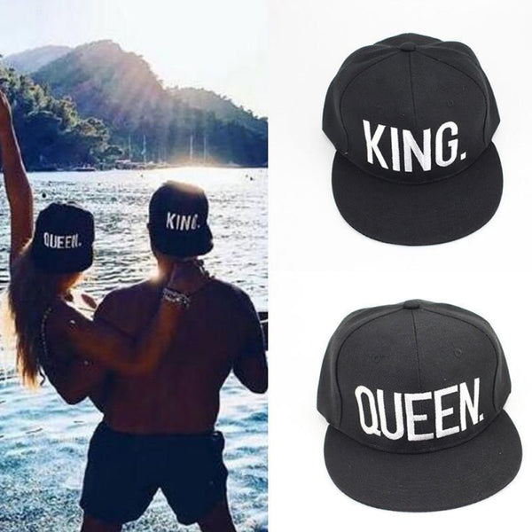 King & Queen Cap #couplegoals - Fitness Elephants