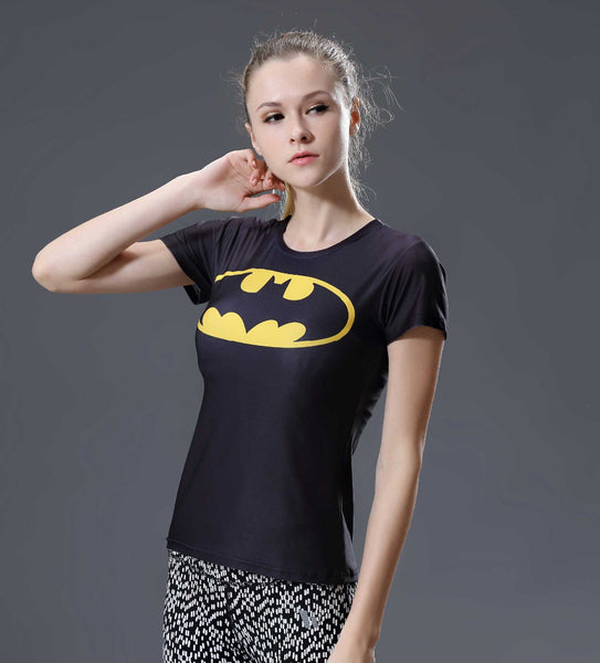 Batman Compression Shirt - Fitness Elephants