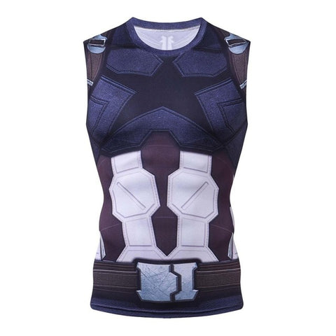 Winter Soldier Compression Tanktop