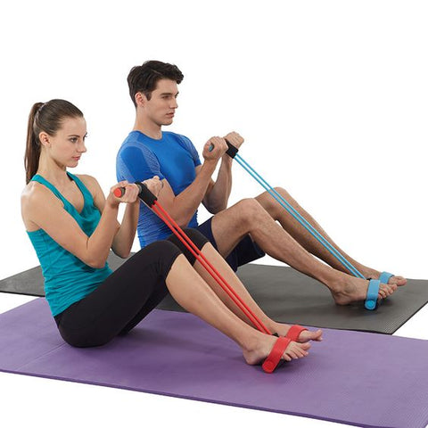 Sit Up Pull Rope Equipment - Fitness Elephants