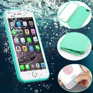 CaseDen Waterproof 360 Full Sealed iPhone Case - Fitness Elephants