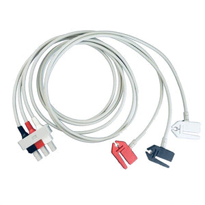 Cables and Sensors LAB3-90P0 Compatible 3 Lead ECG Lead Cable