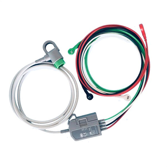 Lifepak 20E Compatible 12 Lead ECG Trunk Cable
