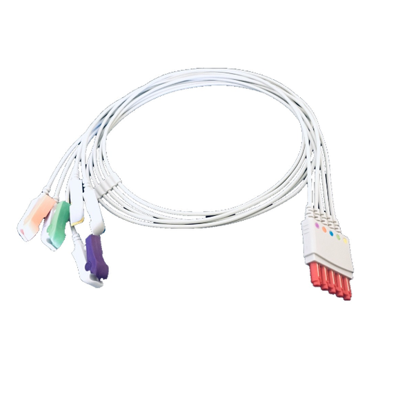 Sensoronics - Philips Compatible 5 Lead ECG Lead Cable Replaces Philips M1976A