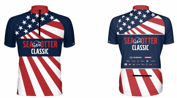 Unisex Flag Urban Cycling Jersey