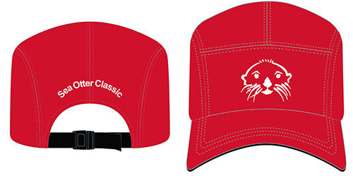 Sea Otter Red Race Hats