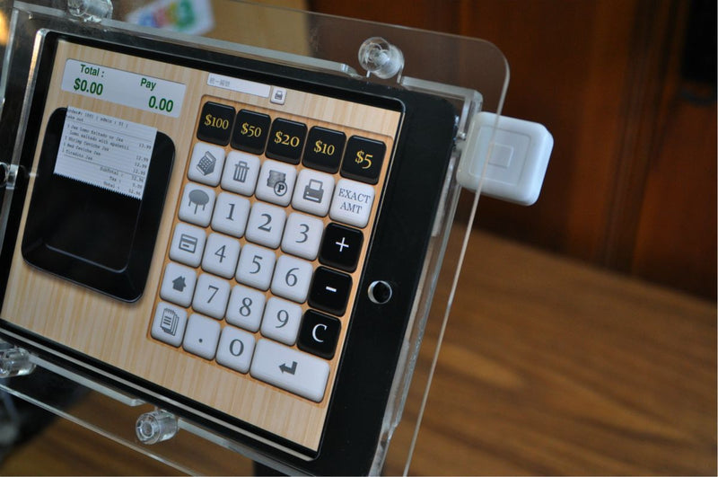 We Support Tablet Headset Based Credit Card Readers