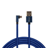 USB A to 90 Degree Right Angle & Left Angle Reversible Micro USB Cable 5Ft 1.5M