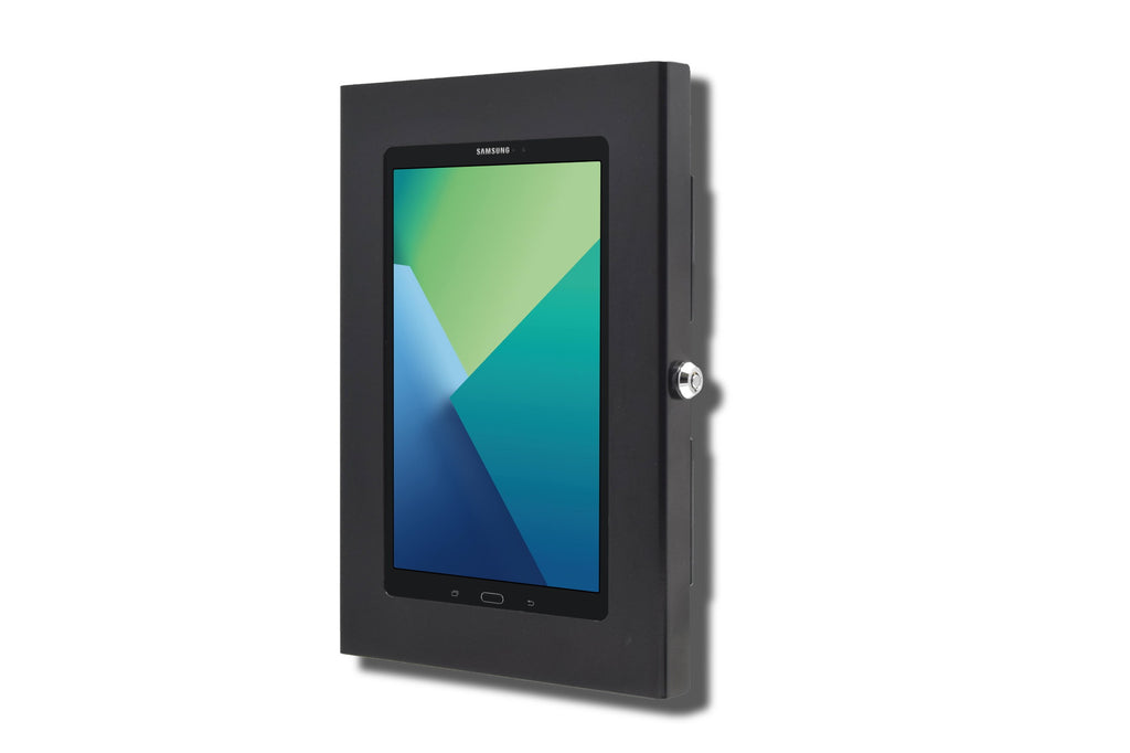 "Samsung Galaxy TAB A E S S2 8"" 8.4"" Tablet Security Wall Mount Metal Enclosure VESA Ready"