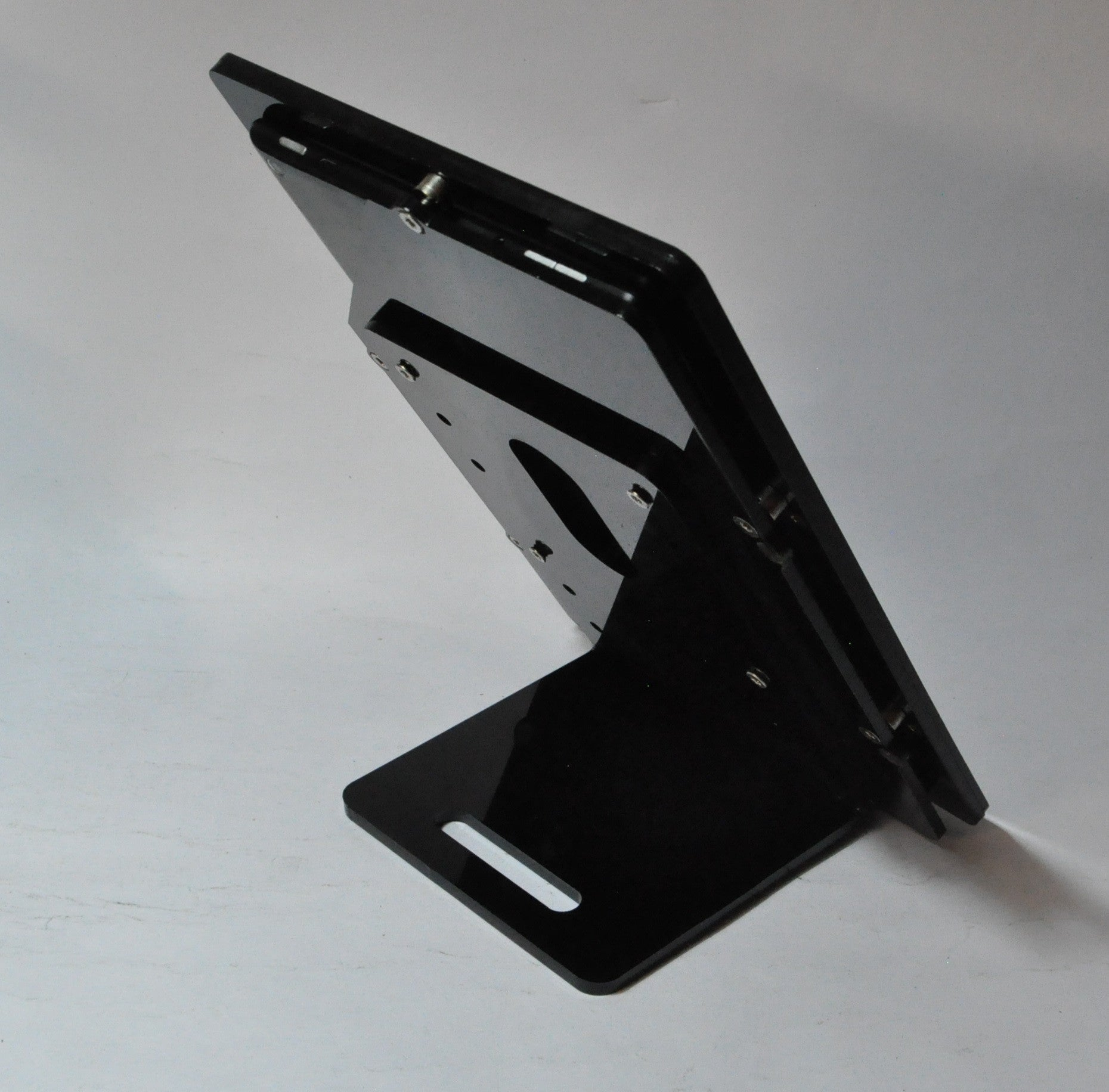 Custom Design Acrylic Security VESA Kit for Wall Mount, Desktop Stand