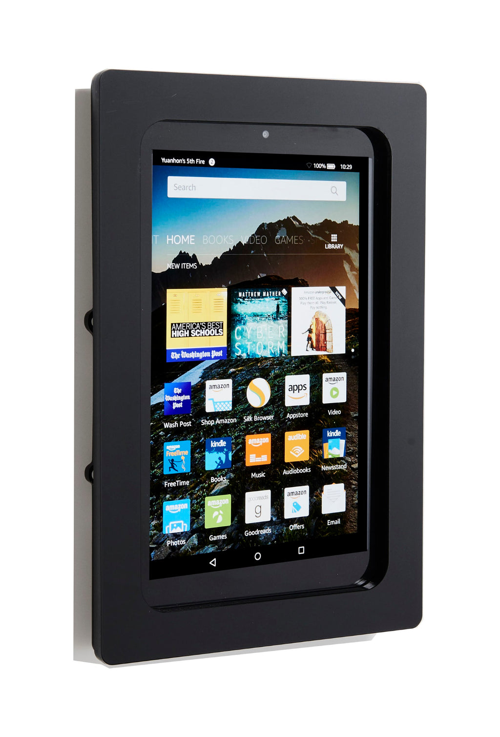 "Amazon Kindle Fire HD 10"" Security Anti-Theft Acrylic Security VESA Kit"